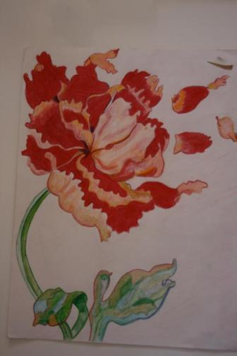 Painting by Sophia Sister Alice Delp